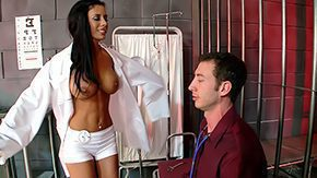 Mya Nichole, Blowjob, Brunette, Clinic, Costume, Deepthroat