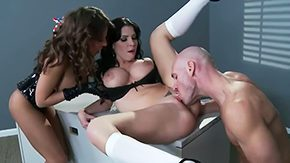 Madison Sins, 10 Inch, 4some, Ball Licking, Big Cock, Big Natural Tits