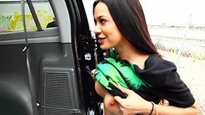 Havoc, Beauty, Boobs, Brunette, Car, Cash