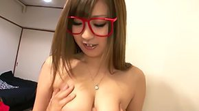 Free Hitomi Kitagawa HD porn videos Gracious Asian babe in the midst of sexy red glasses Hitomi Kitagawa has captivating bug ripe melons