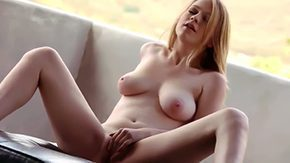 Free Solo Blonde HD porn Blonde with superb body Alaina Fox enjoys massive alone masturbation session
