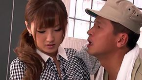 Ethnic HD tube Innocent Tsubasa Amami gets her sexually weird pussy ravished by specific lusty strangers