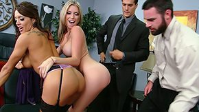 Charles Dera, Big Tits, Bitch, Boobs, Brunette, Foursome