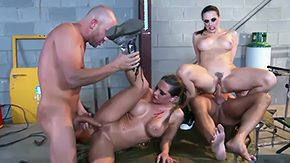 Garage, 3some, 4some, Ass, Assfucking, Babe