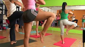 Yoga, 3some, 4some, Aerobics, Banging, Blowjob