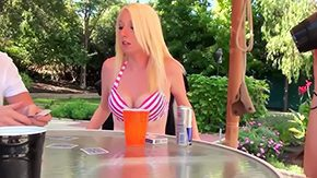 HD Esperenza Diaz tube Naughty Esperenza Diaz Tegan Riley are playing strip poker by pool side