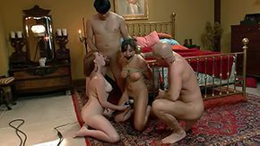 Mom Hardcore, Aunt, BDSM, Bondage, Bound, Brunette