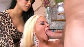 Nikita Von, 3some, Banging, Bed, Bend Over, Bimbo