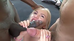 Sasha Rose, 3some, Big Tits, Blonde, Blowjob, Boobs