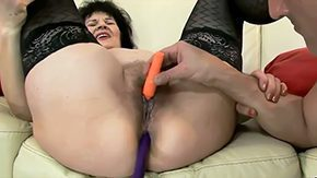 Helena May, Aunt, Babe, Banging, Bed, Bend Over