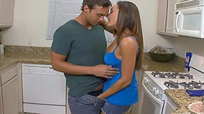 Son, Aunt, Best Friend, Blowjob, Brunette, Deepthroat