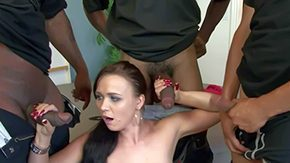Interracial Gangbang, Amateur, Banging, Big Black Cock, Big Cock, Big Natural Tits