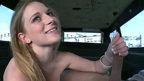 Abbie Anderson, Amateur, Banging, Blonde, Blowjob, Bra