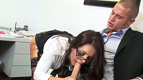 Office Job, Ball Licking, Banging, Barely Legal, Blowjob, Boss
