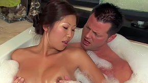 No Hands, Asian, Bath, Bathing, Bathroom, Beauty