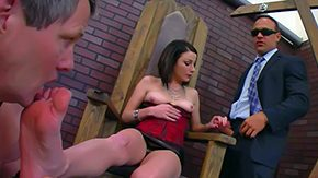 Veruca James, 3some, BDSM, Boobs, Boots, Brunette