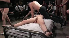 Bdsm Gangbang, Banging, BDSM, Bondage, Bound, Close Up