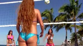 Eva Ellington, Ass, Beach, Big Ass, Bikini, High Definition