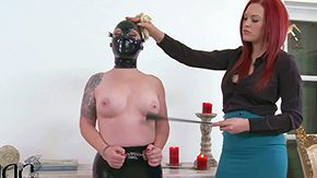 Dominatrix, Audition, BDSM, Behind The Scenes, Blindfolded, Bondage