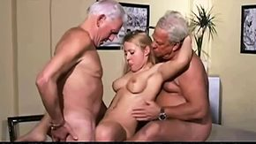 HD When a babe is getting pleased by two studs, she receives double pleasure