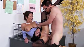 Danish, Aunt, Ball Licking, Blowjob, Bodystocking, Corset