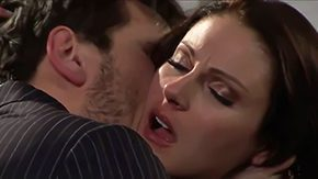 Samantha Ryan, Aunt, Bedroom, Blowjob, Brunette, Cougar