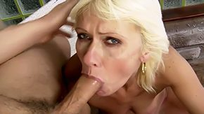 Kate Blonde, Aunt, Babe, Blonde, Blowjob, Cute