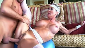 Brandi Love, Aerobics, Athletic, Ball Licking, Banging, Bend Over