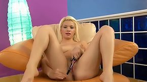 Grace Noel, Banana, Blonde, Boobs, Cute, Fingering