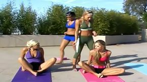 Devi Emmerson HD porn tube Yoga task with babes on the point of denuded outside during this impassioned sunny day Appreciate Angelica Saint Devi Emmerson Nikki Sammie Rhodes impassioned