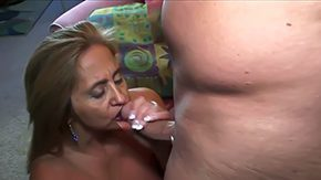 Mature Blowjob, Aunt, Ball Licking, Barely Legal, Bed, Bend Over