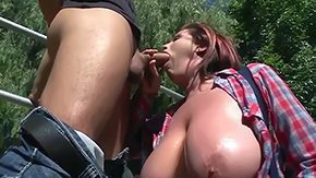 Lisa, Ball Licking, Big Cock, Big Natural Tits, Big Nipples, Big Tits