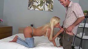 Andrea Francis, Babe, Ball Licking, Banging, Big Cock, Blonde