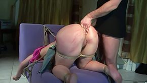 Olga Cabaeva, Ass, Ass Licking, BDSM, Blindfolded, Bondage