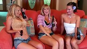 Kinnley Kessler HD porn tube 3 filthy women are tired of their hubbies that always fuck sweethearts so they decided to organize ardent lesbian gathering Mademoiselles took alcohol to