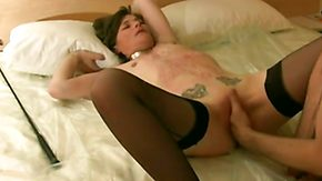 French, Amateur, BDSM, Bitch, Brunette, Choking