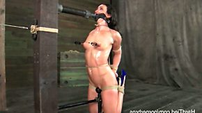 Sweat, BDSM, Bondage, Bound, Fetish, Nipple Clamp