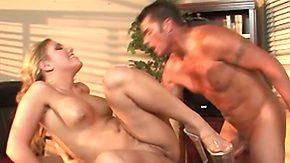 Aubrey Addams, Blowjob, Boss, Choking, Cowgirl, Cumshot