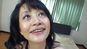 Old Lady, Asian, Asian Granny, Asian Mature, Bed, Bitch