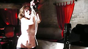 Humiliation, BDSM, Bondage, Bound, Brunette, Hardcore