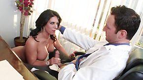 Doctor, Ass, Big Tits, Blowjob, Boobs, Brunette