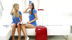 Free Stewardess HD porn videos Flight Hangers-on Fuck