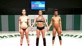 Wrestling, Black, Black Lesbian, Black Mature, Brunette, Ebony