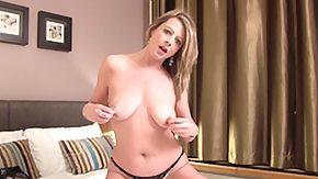 Mature Solo, Anal Finger, Ass, Bed, Big Ass, Big Natural Tits