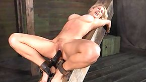Chained, Ball Kicking, Ballbusting, Basement, BDSM, Beauty