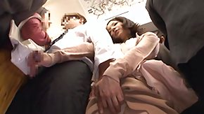 Japanese, Asian, Asian Mature, Brunette, Grinding, Handjob
