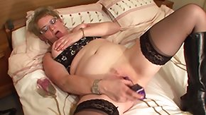 Matur, BBW, Bed, Big Ass, Big Pussy, Big Tits
