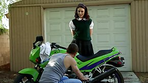 Biker, 18 19 Teens, Barely Legal, Biker, Blowjob, Brunette
