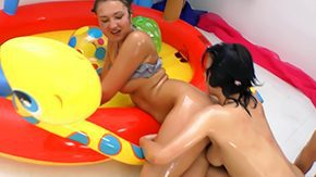 HD Vanessa Vaughn Sex Tube Judit Vanessa Vaughn have atm ffm action in the middle wading pool