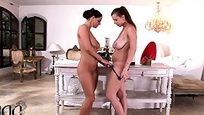 Busty Lesbian, Big Tits, Boobs, Brunette, Czech, Feet
